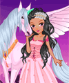 Unicorn of Moonlight Dress Up Game