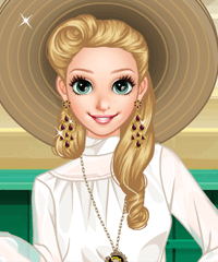 Anna Graceful Grace Dress Up Game