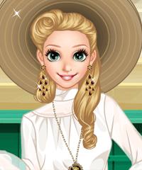 Anna Graceful Grace Dress Up Game