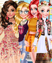 BFFs Style Competition Dress Up Game