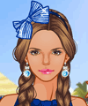 Ocean Blue Resort Dress Up Game