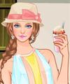 Enjoy My Ice Cream Dress Up Game