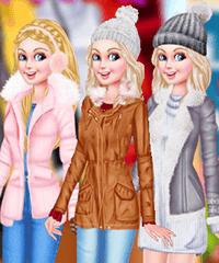 Barbie Winter Getaway Game