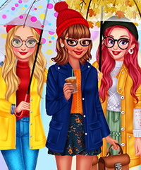 My Cool Rain Boots Dress Up Game