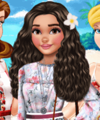 Moana Ruffles FTW Dress Up Game