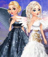 Disney Angel Costumes Dress Up Game