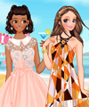 Beach Party Dress Up Game