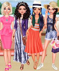 Celebrities Malibu Fashion Trends Dress Up Game