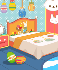 Easter Bedroom Decoration Game