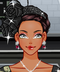 Floral Hats Dress Up Game