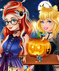 Princess Halloween Challenge Game
