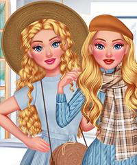Cinderella Dream Closet Hot vs Cold Dress Up Game
