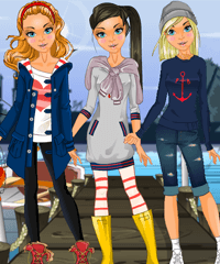 Sailor Sabrina Dress Up Game
