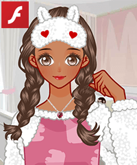 Warm Pajamas Dress Up Game