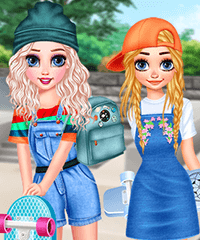 Skater Friends Dress Up Game