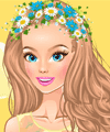 Wearing Flowers Dress Up Game