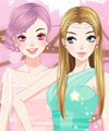 Moon Angels Dress Up Game