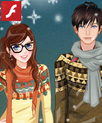 Valentine Date Dress Up Game