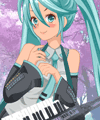 Hatsune Miku from Vocaloid Dress Up Game