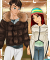Justin and Lisa in Love Dress Up Game