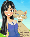 Caring Cat Owner Dress Up Game