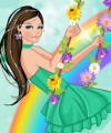 Swinging on a Rainbow Dress Up