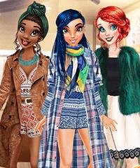 Princess Shopping Rivals Dress Up Game