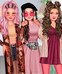 Insta Girls Festival Glamping Dress Up Game