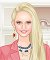 Beautiful Beige Dress Up Game