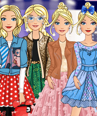 Barbie Disney Fashion Line Game