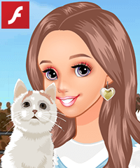 Feeding Cute Cats Dress Up Game