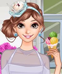She Loves Ice Cream Dress Up Game