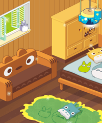 My Totoro Room Decoration Game
