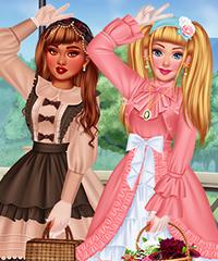 Design My Lolita Fashion Dress Game