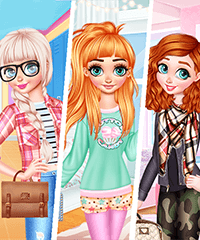 Princesses Different Styles Dress Up Game