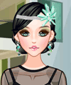 Crystal Hair Accessories Makeover Game