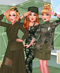 Army Style Dress Up Game