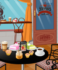 Coffee Shop Design Game