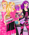 Barbie Princess and Popstar Dress Up Game
