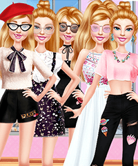 Barbie Roadtrip Adventure Dress Up Game