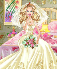 Barbie Bride Wedding Room