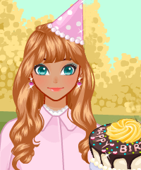 My Birthday Cake Dress Up Game