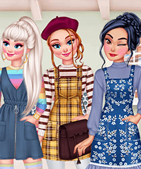 Design My Pinafore Dress Game