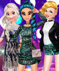 Princess Night Out in Hollywood Dress Up Game
