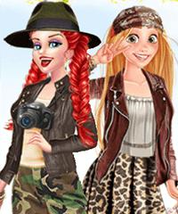 Princess Safari Style Dress Up Game