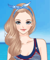 Sunshine and Beach Dress Up Game