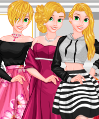 Princess Daily Fun Dress Up Game