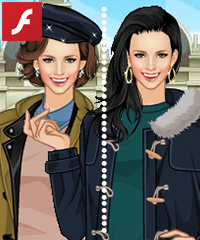 Duffel Coats Dress Up Game