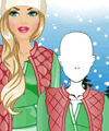 Fashion Studio Winter Outfit Design Game