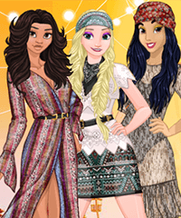Princess Festival Fashion Dress Up Game